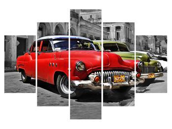 Obraz historických aut (K012020K150105)