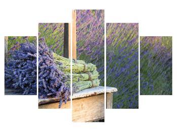 Obraz levandulových svazků (K012032K150105)