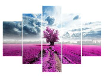 Obraz květinového pole (K012034K150105)