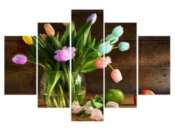 Tablou cu lalele în vază (K012150K150105)