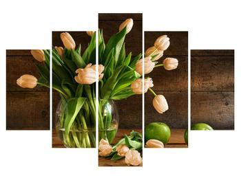Tablou cu lalele în vază (K012151K150105)