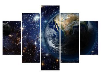 Tablou cosmic cu planete (K012177K150105)