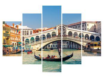 Obraz benátské gondoly (K012178K150105)