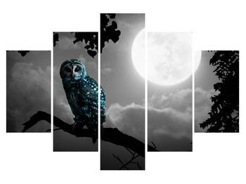 Obraz noční sovy (K012185K150105)