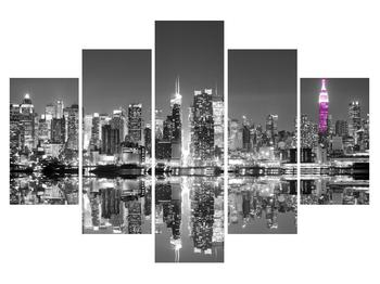Tablou albneru cu New York (K012203K150105)
