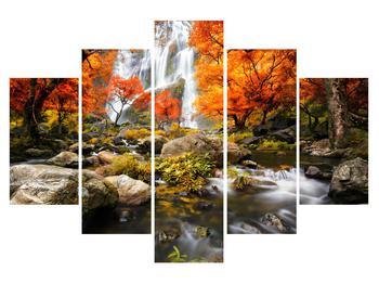 Obraz jesennej krajiny (K012335K150105)
