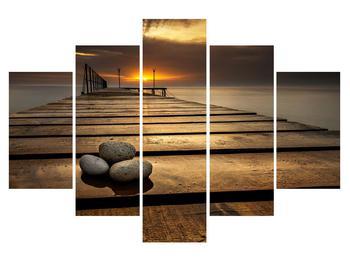 Tablou cu port la mare (K012414K150105)