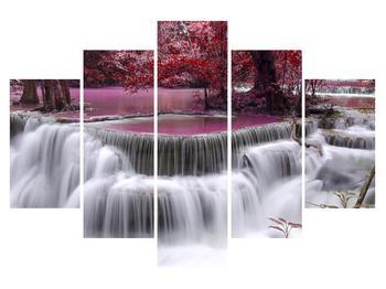 Obraz podzimních vodopádů (K012486K150105)