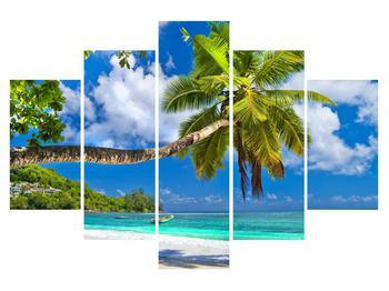 Tablou cu palmier și plaja (K012669K150105)