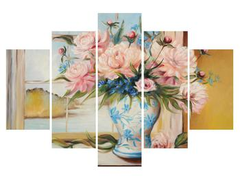 Tablou cu flori în vază (K012738K150105)