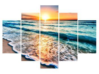 Obraz morskej pláže (K013520K150105)