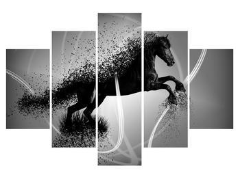 Moderní obraz koně (K013573K150105)