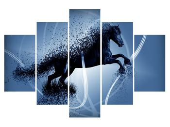 Moderní obraz koně (K013574K150105)