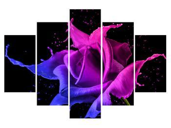 Abstraktní obraz růže (K013578K150105)