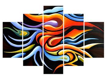 Abstraktní obraz - malba (K013864K150105)