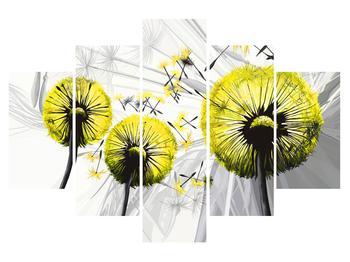 Tablou galben cu păpădii (K014028K150105)