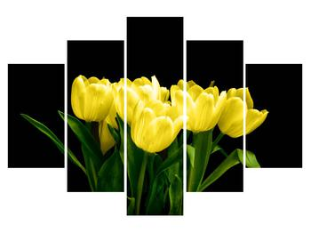 Tablou cu lalele galbene (K014370K150105)