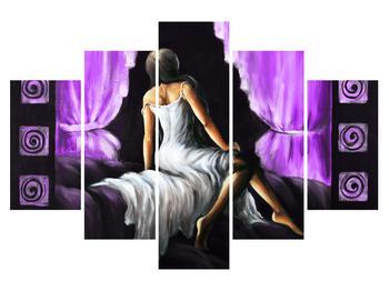 Obraz ženy v šatech (K014565K150105)