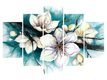 Tablou cu flori (K014586K150105)