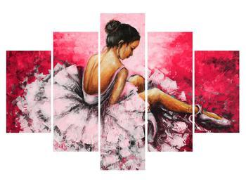 Obraz sedící baletky (K014587K150105)