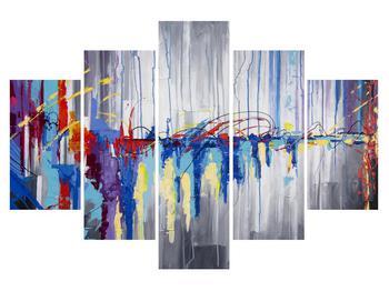 Abstraktní obraz - malba (K014692K150105)