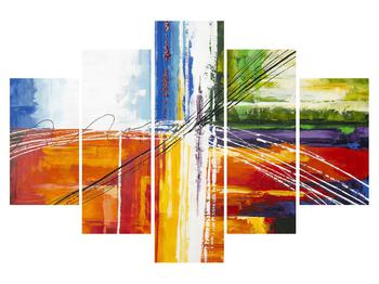 Tablou abstract - pictura (K014706K150105)