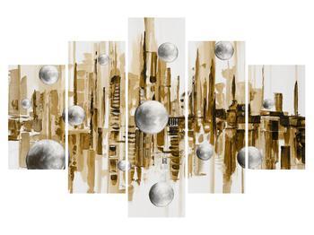Tablou abstract - oraș (K014724K150105)