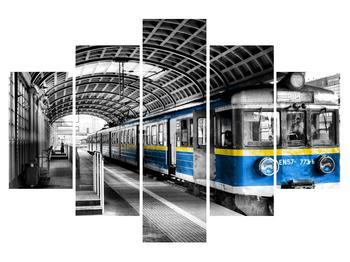 Régi vonat képe (K015026K150105)