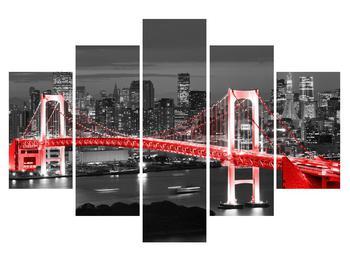 Moderný obraz mostu (K015030K150105)