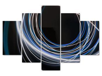 Obraz modrých liniek (V020053V150105)
