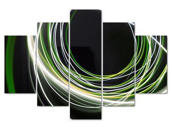 Obraz zelených čiar (V020054V150105)