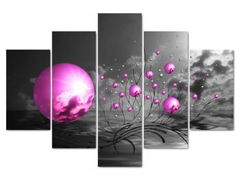 Obraz ružových gulí (V020108V150105)