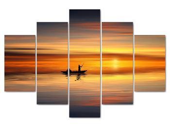 Obraz - plavba na loďke (V020168V150105)