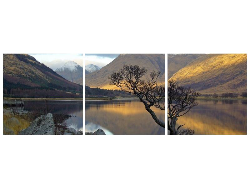 Obraz hor u jezera (F000686F15050)