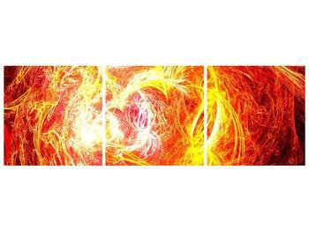 Abstraktní oranžový obraz (F000152F15050)