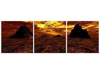 Obraz vyprahlého údolí (F000287F15050)
