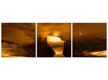 Obraz skály a pláže (F000300F15050)