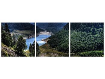 Obraz řeky a hor (F000615F15050)