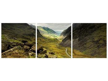 Obraz cesty uprostřed hor (F000621F15050)