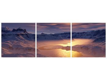 Krásný obraz zimní krajiny (F000939F15050)