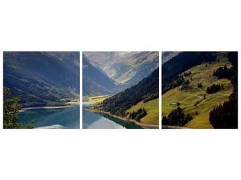 Obraz horského údolí (F001494F15050)