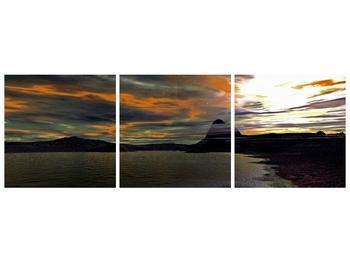Obraz moře v temné obloze (F001564F15050)