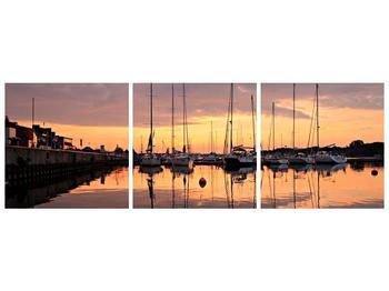 Obraz přístavu (F001605F15050)