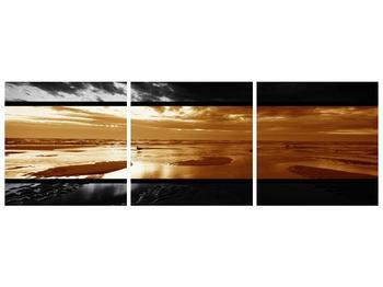 Dvroubarevný obraz moře (F001957F15050)