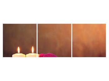 Tablou relaxant cu lumănâri și orhidee (K011120K15050)