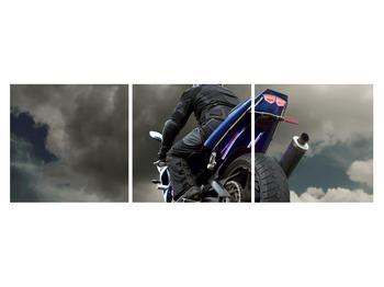 Tablou cu motociclist cu motocicletă (K011302K15050)