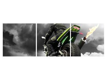 Tablou cu motociclist pe motocicletă (K011383K15050)