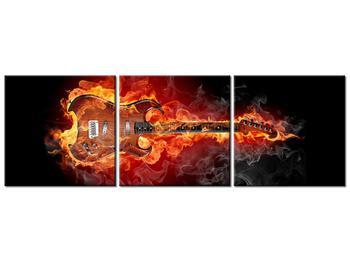 Tablou cu chitara  în foc (K011403K15050)