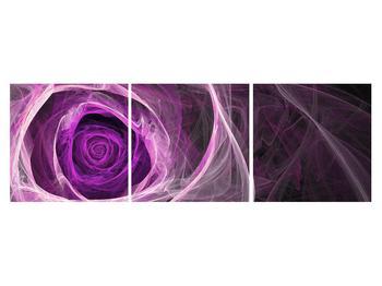 Moderný obraz fialovej ruže (K011482K15050)
