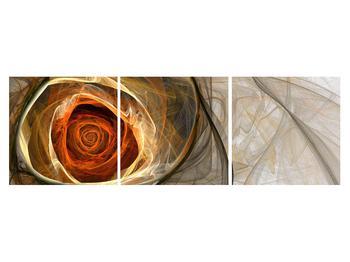 Moderní obraz růže (K011863K15050)